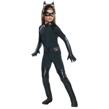 The Dark Knight Rises Deluxe Catwoman Kids Costume
