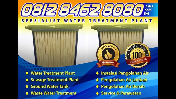 0812 8462 8080 (Tsel), Water Treatment Plant di Klender Cawang Cililitan