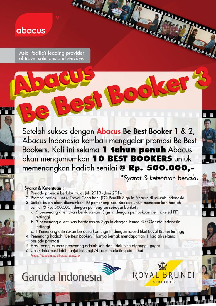 Abacus Be Best Bookers 3