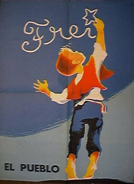 Afiche Campaña de Frei.