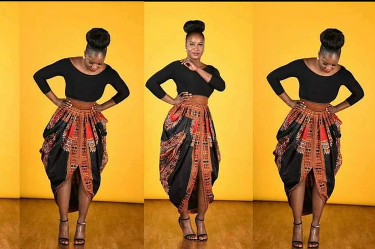 One Yard Dashiki skirt● Cowl Skirt |  I will have to make a muslin first.  I found the tutorial confusing.