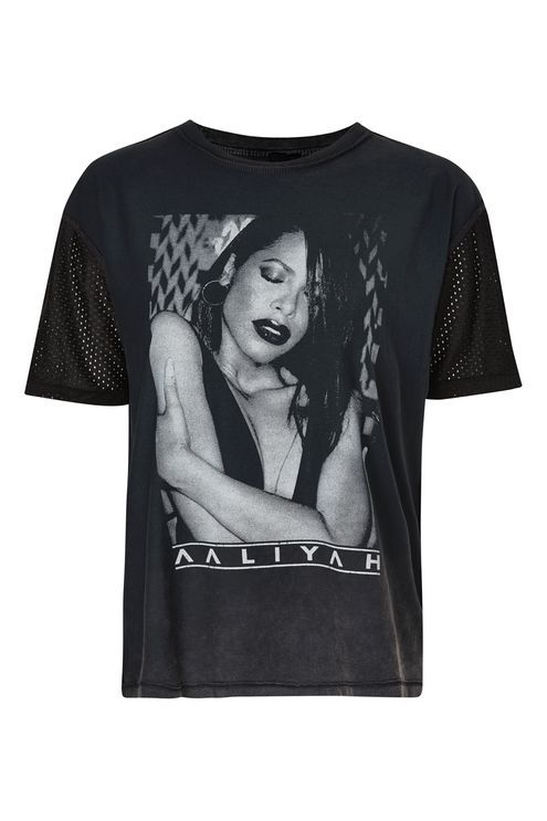 Aaliyah Mesh T-Shirt by And Finally