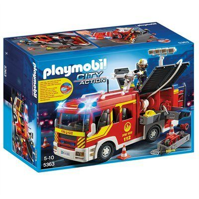 Playmobil Fire truck - pump unit