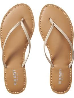 my new favorite flip flops!  nude & black go with everything in my closet.