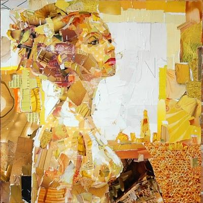 Cool collage portraits from Derek Gores