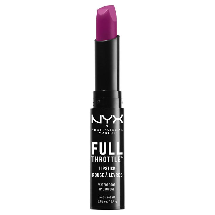 Nyx Professional Makeup Full Throttle Lipstick Trickster - 0.08oz