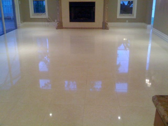 All acids can cause harm to marble surfaces that is why for Vinegar on concrete floor