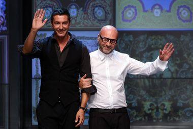 Domenico Dolce et Stefano Gabbana http://www.vogue.fr/thevoguelist/domenico-dolce-et-stefano-gabbana/498