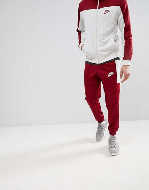 f69546f36 Chándal de poliéster en rojo 861774-677 de Nike en 2019 | Ropa ...