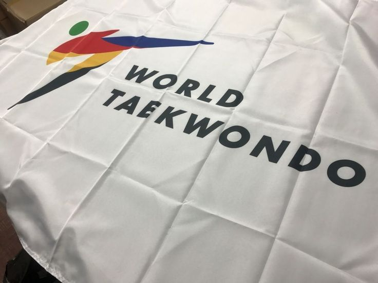 WTF Flag Korea TaeKwonDo Gym Uniform Dobok Bag TKD World Tae Kwon Do Federation #kzzang