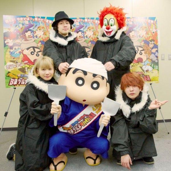 SEKAI NO OWARI providing theme song for new Crayon Shin-chan movie