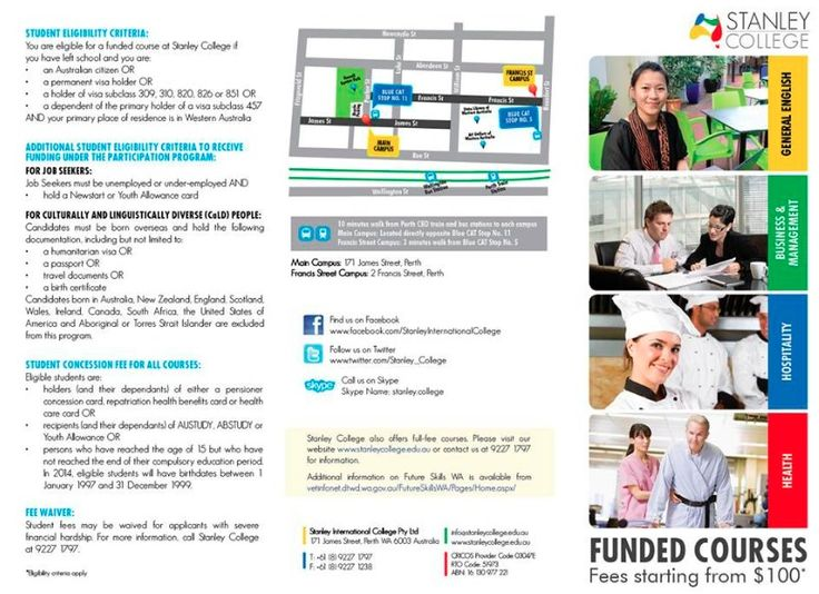 Government Funded Courses Perth