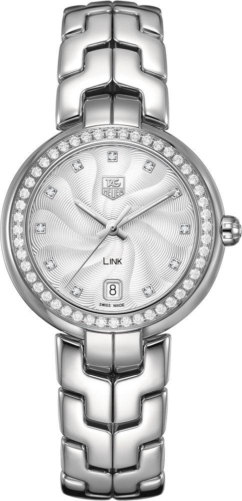 "TAG Heuer Link WAT1316.BA0956: ""WAT1316.BA0956 NEW TAG HEUER LINK WOMEN'S SPORT WATCH IN STOCK - FREE… #Watches #Watch #LuxuryWatch"
