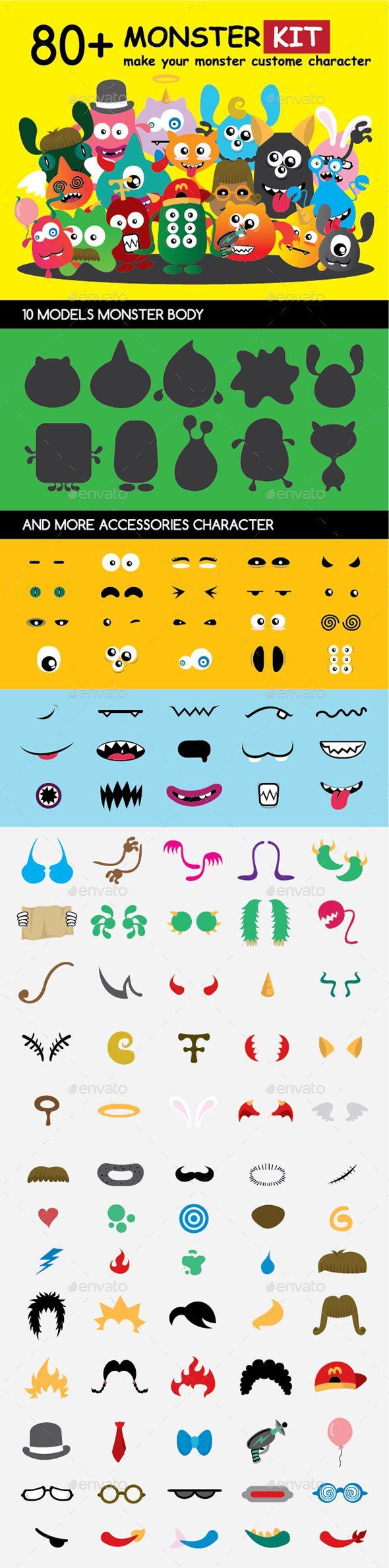 Monster Character Kit 1.0