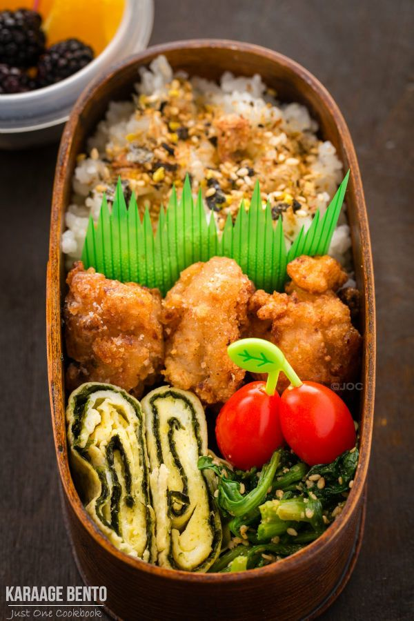 Karaage Bento | Easy Japanese Recipes at JustOneCookbook.com