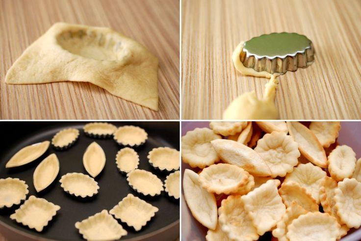 Barcute (coji) pentru aperitive - Retete culinare by Teo's Kitchen