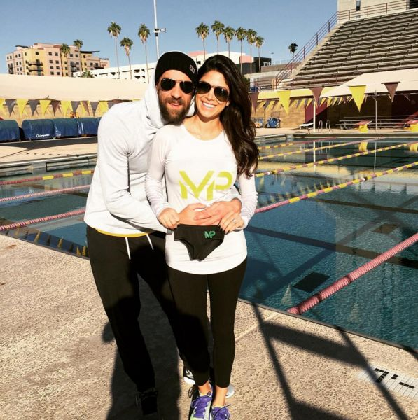 Michael Phelps & Nicole Johnson Expecting First Child - http://site.celebritybabyscoop.com/cbs/2015/11/18/michael-johnson-expecting #Expecting, #MichaelPhelps, #NicoleJohnson, #Olympian, #Pregnancyannouncement