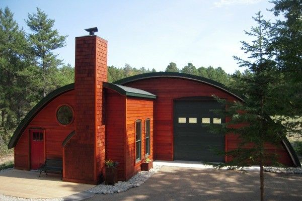 SteelMaster Building steel airplane hangar custom front minnesota  InteriorExterior Home