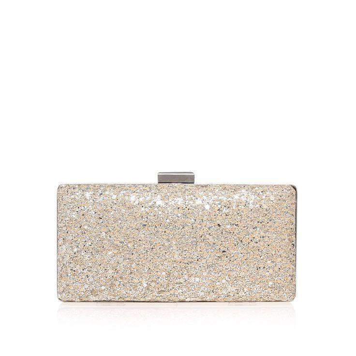 tabitha, silver bag by miss kg - bags & accessories bags clutch bags