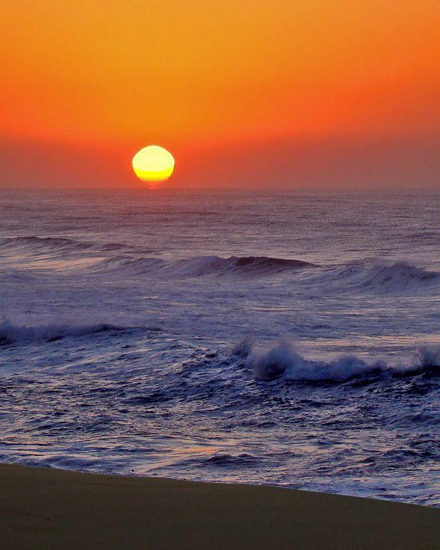 Port Shepstone Sunrise by  Anna Eksteen
