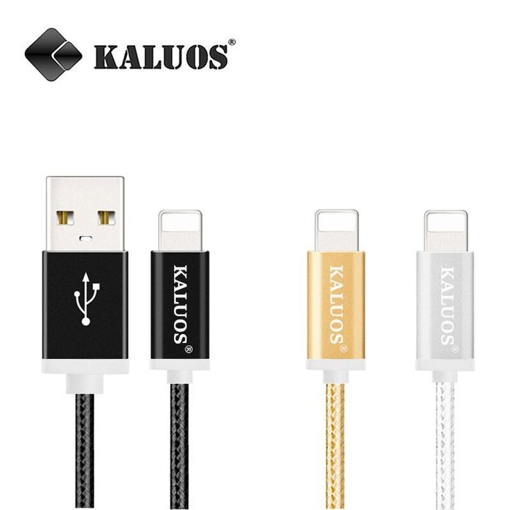 Best  m m kaluos usb data sync pengisian kabel untuk iphone s s ditambah se ipad mini air pro biaya cepat kabel