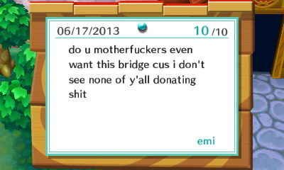 You want public infrastructure without big Animal Crossing government? | 24 Rudest Things In Animal Crossing