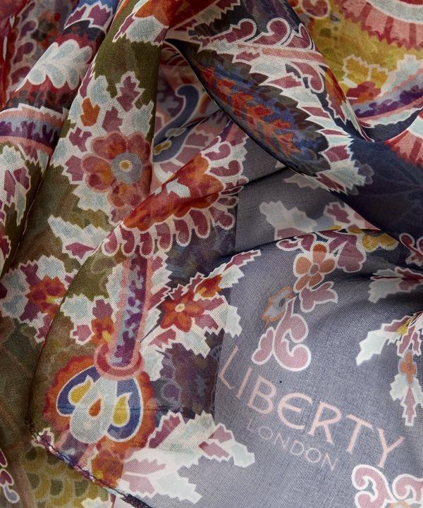 c5476063ede5f Mala 70 x 180cm Silk Chiffon Scarf   Liberty of London   Chiffon ...