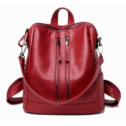 3956accac6e6 PERUGGIA RED - NŐI HÁTIZSÁK VALÓDI BŐR #trendtaska #pirosnoitaska  #pirostaska #piroshatizsak #hatizsaknoi #noitaska #backpackwomen  #backpackredwomwn