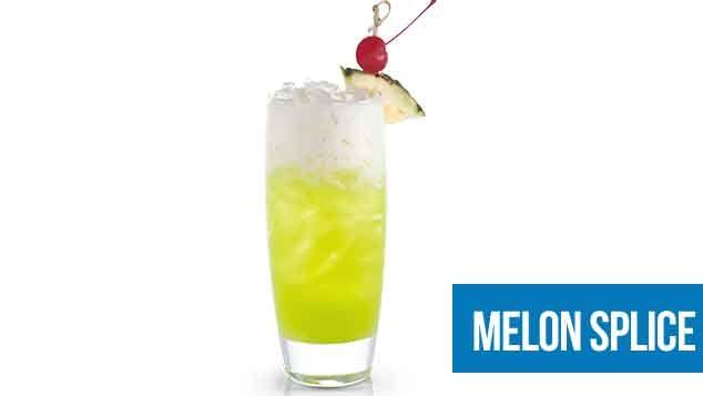 Midori Splice Cocktail Recipe - How to make a Midori Splice Cocktail