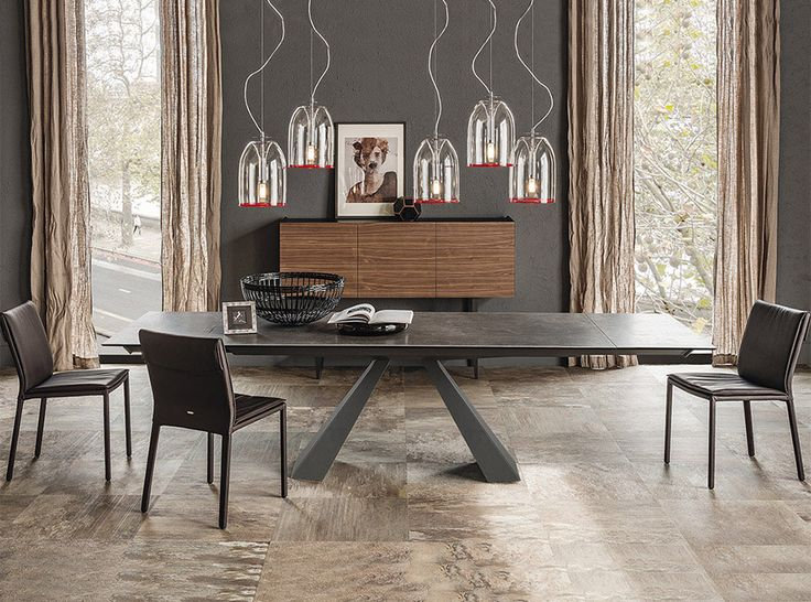 Eliot Keramik Drive Dining Table by Cattelan Italia - $4,975.00