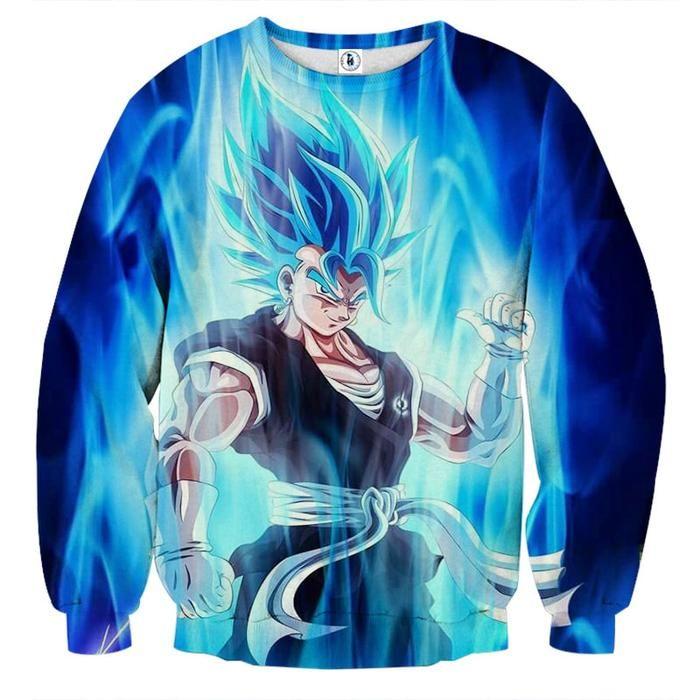 Dragon Ball Goku Crossover One Piece Luffy Fleece Streetwear Strongest Anime Monkey Hoodies Women Men Black Sweatshirts Customers First Men's Clothing