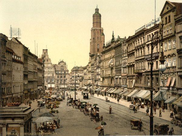 Bild:   - Breslau, Naschmarkt