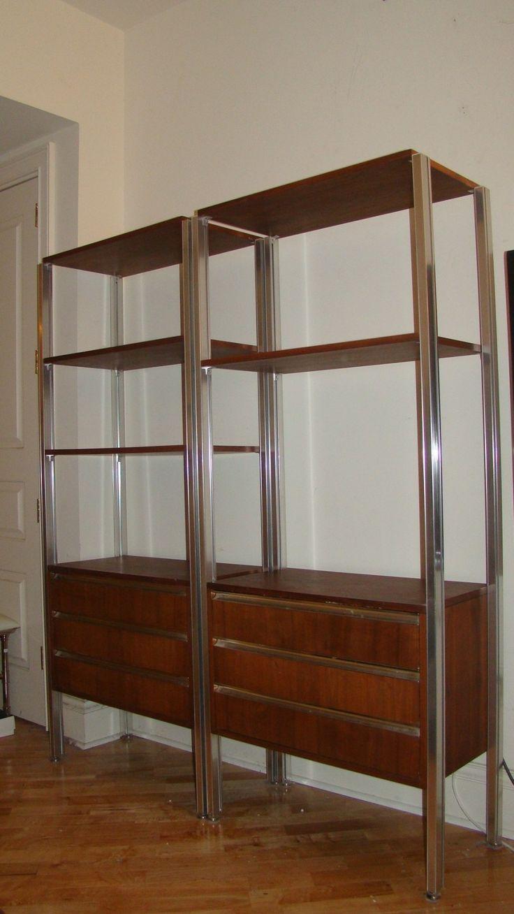 Mid Century Modern 5 Shelf Bookcase Modern House