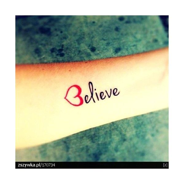 Cute Arm Quote Tattoos for Girls ❤ liked on Polyvore featuring tattoos, tatoos and accessories