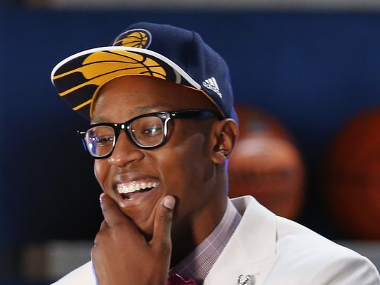 Pacers go with upside, draft Myles Turner at No. 11