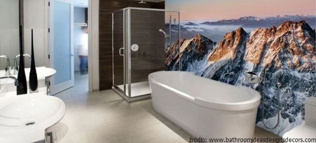 Fototapeta do łazienki – modne pomysły