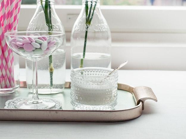 Kastehelmi candle holder as a sugar bowl Kakkukestit | Kotilo