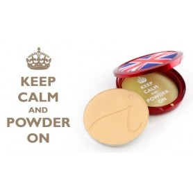Limited Edition Team GB Olympic Jane Iredale Compact Case -   From time to time Jane Iredale release wonderful limited edtition products and this compact case is another one. Decorated with the Union Jack and with Keep Calm and Powder On written inside, this really will be a must have product this summer. DOUBLE POINTS WILL BE AWARDED ON THIS WONDERFUL PRODUCT AFTER YOU PURCHASE!