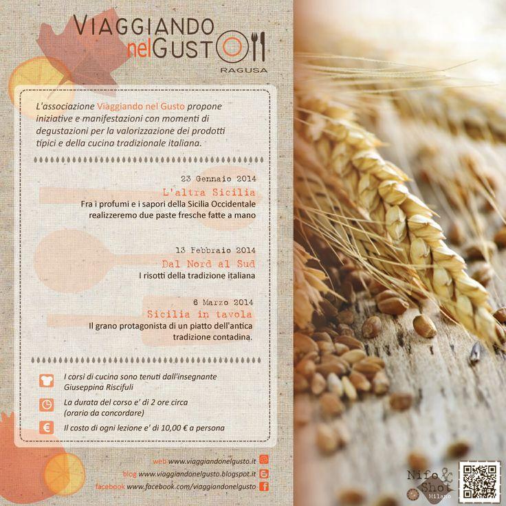 Corsi di cucina #ViaggiandonelGusto -  www.viaggiandonelgusto.it - design by #NifoShot