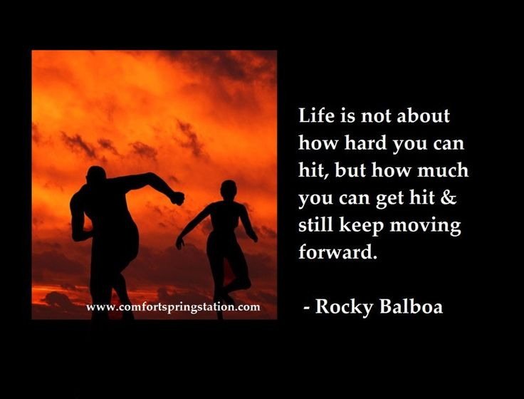 Rocky Balboa Life Is Hard Quote: 17 Best Images About Quotes And Inspiration On Pinterest