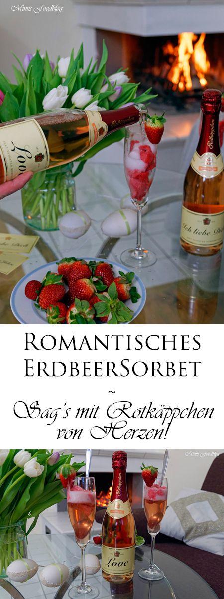Ein romantischer Abend, ein selbst gemachtes Erdbeersorbet mit Sekt und gemeinsame Zeit. Dazu ein Gläschen Sekt vor dem Kamin, das verspricht doch ein schöner Abend zu zweit zu werden. Diese Momente sind Ruhe und Entspannung für uns. Besonders an Feiertagen ist es immer mal wieder schön sich ein paar Stunden zu nehmen. #vonherzen