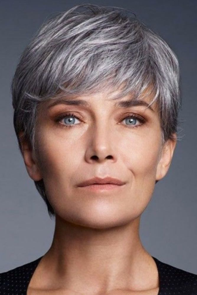 44 Pixie Haircuts For Women Over 50 That Flatter Women Of Any Age Short Grey Hair Short Pixie Haircuts Grey Hair Wig