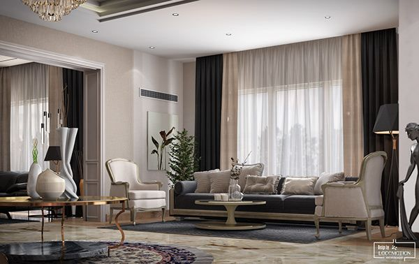 neoklassizistische Villa in Behance   – kk