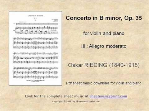 Rieding : Concerto Op. 35 for Violin 3/3 www.sheetmusic2print.com/Rieding/Concerto-35-III.aspx