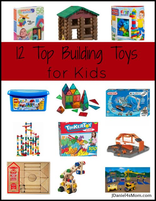 Top Building Toys For Boys : Top building toys for kids by jdaniel s mom the