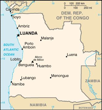 Angola – Information about countries