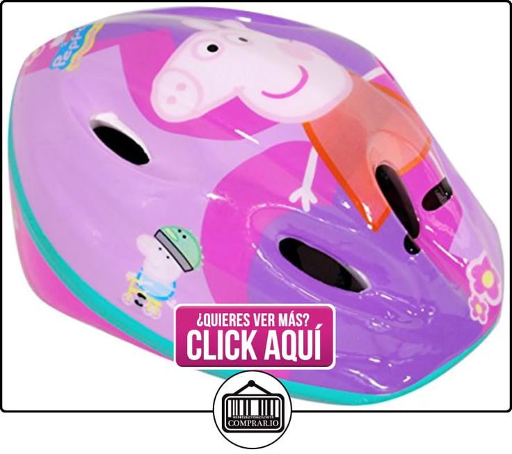 Peppa Pig - Casco de bicicleta (Saica Toys 9135)  ✿ Peppa Pig - Peppa La Cerdita ✿ ▬► Ver oferta: https://comprar.io/goto/B00L24FG7U
