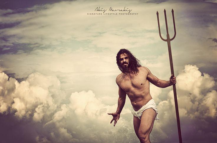 Poseidon. The god of the sea. Son of Cronus and Rhea  www.akismavrakis.com
