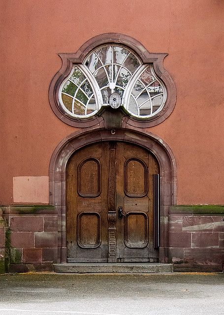 Art Nouveau architecture in Strasbourg, France.