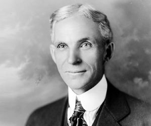Henry Ford. Thefamouspeople.com presents life history and biography of world famous people in various spheres of life